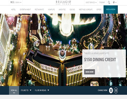 Bellagio Hotel And Caino Review