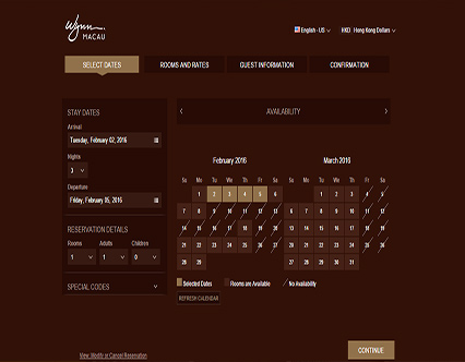 Wynn Macau Hotel Booking