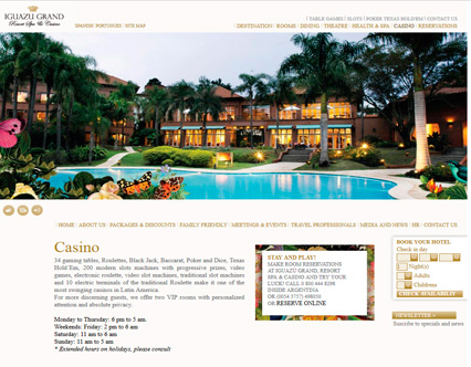 iguazu grand resort spa & casino