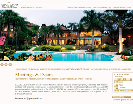 iguazu grand hotel booking