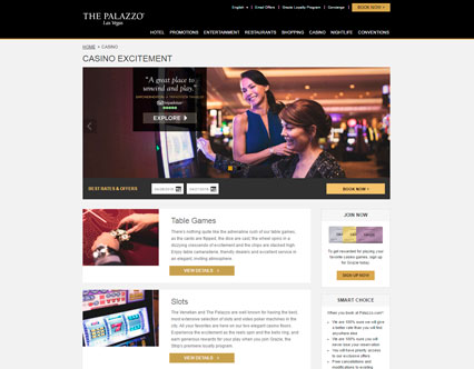 the palazzo resort hotel and casino las vegas