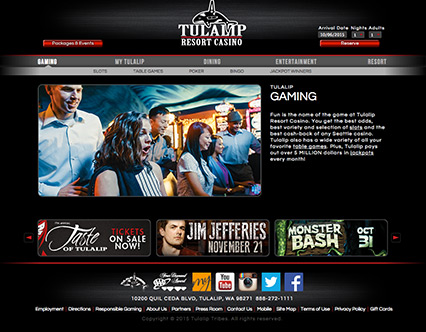 Tulalip slot games